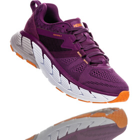 Hoka One One Gaviota 2 Running Shoes Women grape juice/bright marigold